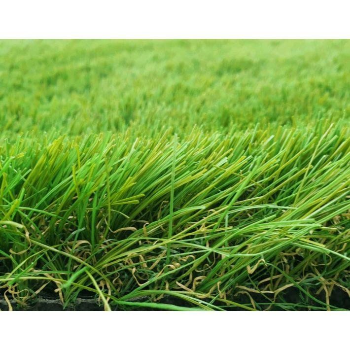 Alpes UV Álló zöld Kültéri Műfű Szőnyeg 40mm szálhossz