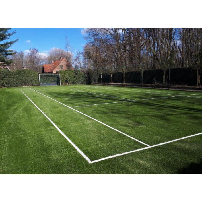 Wimbledon Fibrillált Nagy Sűrűségű Prémium Sport Tenisz Műfű 20 mm